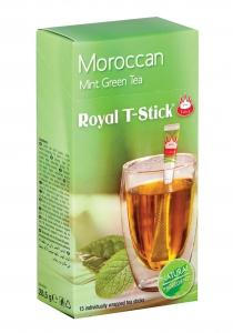 """Чай на пръчици """"ROYAL T-STICK"""" Зелен с мента"""